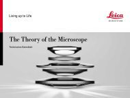 The Theory of the Microscope - Leica Microsystems