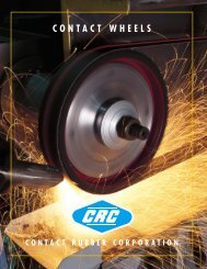 C130E Slotted Expander Wheel - Contact Rubber Corp