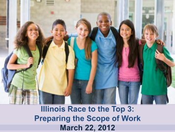Illinois Race to the Top 3: Preparing the Scope of Work Webinar ...