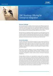 H2677 EMC Roadmap Offering for Enterprise Integration Service