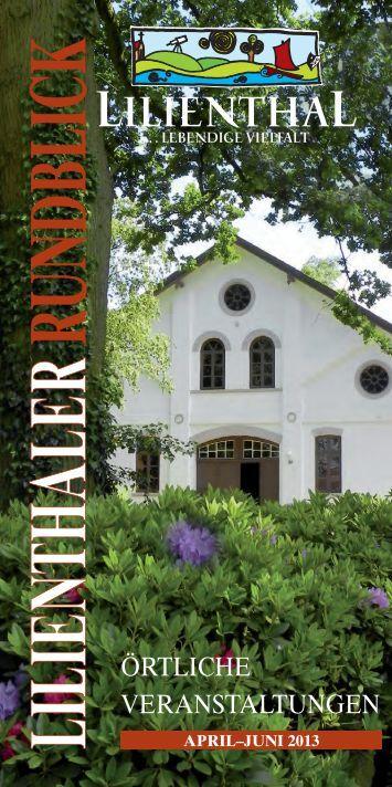 Lilienthaler Rundblick 2/2013