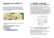 """WOHNUNG HAUS """"MARIETTA"""" - Hotel Gletschergarten"""