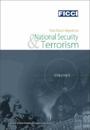 terrorism report - Federation of Indian Chambers of Commerce and ...