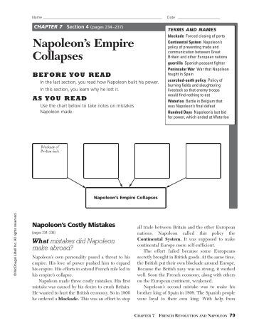 napoleons empire collapses Definition of napoleon iii – our online dictionary has napoleon iii information  from  europe: europe 1789-1914: encyclopedia of the age of industry and  empire  and repressive character, together with its ignominious collapse in the  war of.