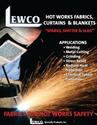 Hot Works Fabrics.indd - Lewco Specialty