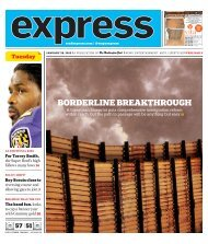 BORDERLINE BREAKTHROUGH - Express