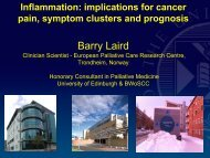 Breakthrough Cancer Pain Barry Laird Honorary Consultant in ...
