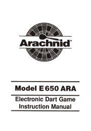 Model: E650-ARA - DMI Sports