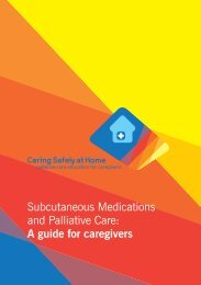 Subcutaneous Medications and Palliative Care: A ... - CareSearch