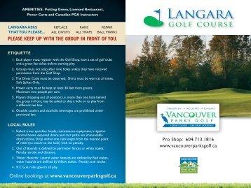Langara Scorecard 2012.indd