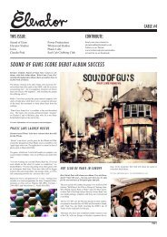 sound of guns score debut album success - Elevator Studios