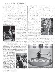 USC BASKETBALL HISTORY