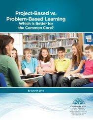 Project-Based vs. Problem-Based Learning
