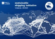 sustainable shipping initiative vision 2040 - Forum for the Future