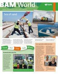Sea of sand - Royal BAM Group