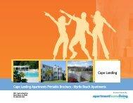 Cape Landing Apartments Printable Brochure - Myrtle Beach ...