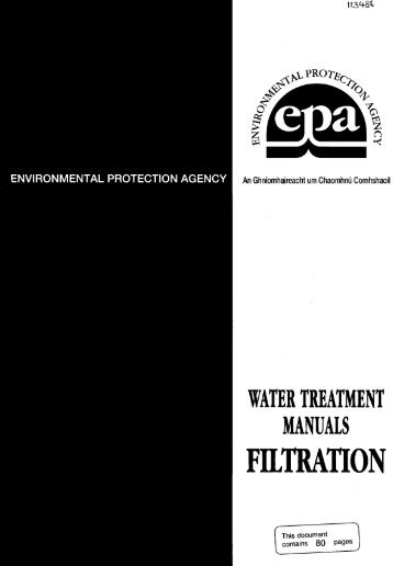FILTRATION - Environmental Protection Agency