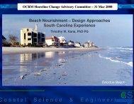 Shoreline Change Advisory Committee