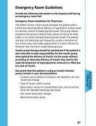 Emergency Room Guidelines  - Smiths Medical