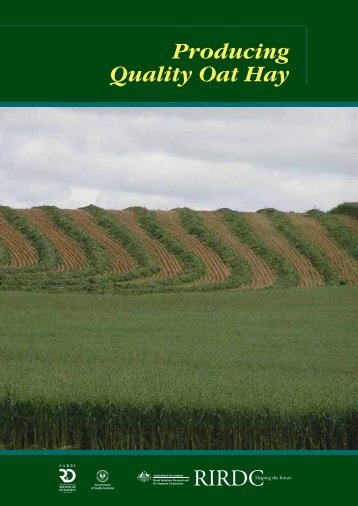 Producing Quality Oat Hay