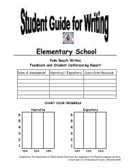 Writing Folder Revised elem 4 with footer - The School District of ...