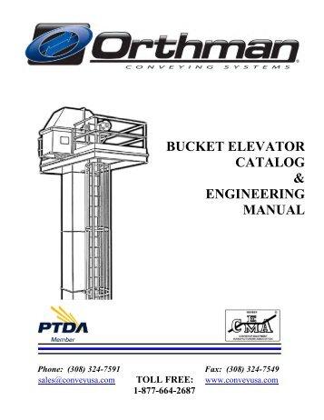 CONVEYING CAPACITIES BUCKET ELEVATORS