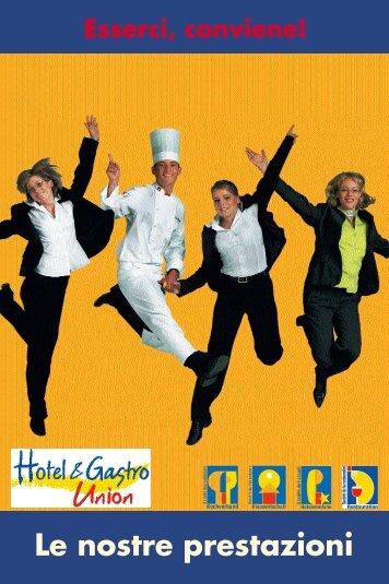 Le nostre prestazioni - Hotel & Gastro Union