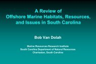 A Review of Offshore Marine Habitats, Resources, and Issues in ...