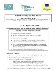 AEOS 3 Application Forms - Department of Agriculture
