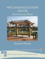wetlands education center - Mission - Aransas National Estuarine ...
