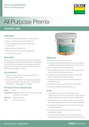 All Purpose Premix PDS - Boral