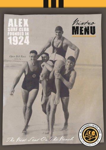 menu July 2012.pub - Alex Surf Club