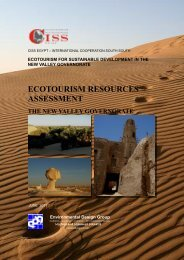 ecotourism resources assessment the new valley governorate
