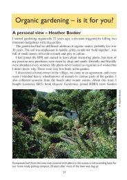 08 organic gardening - Hardy Plant Society
