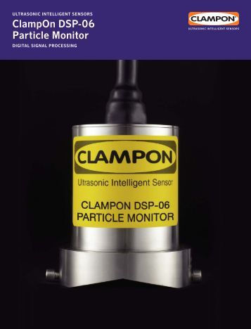 ClampOn DSP-06 Particle Monitor Brochure