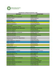 Saskatchewan Landing Plant List - Native Plant Society of ...