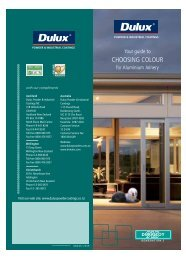 Dulux Powder Coating Colour Chart - Anchor Wire