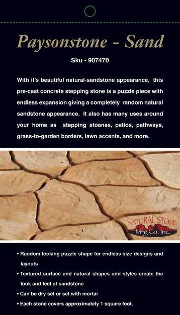 Paysonstone - Sand