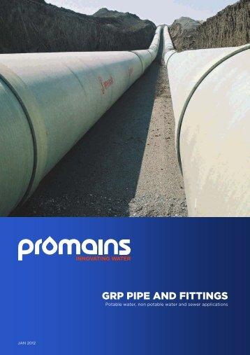 GRP Pipe and Fittings Product Guide PDF - Promains