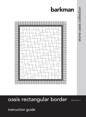 oasis rectangular border - barkman hardscapes
