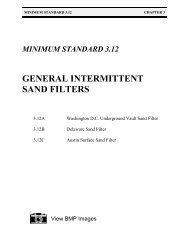 General Intermittent Sand Filters - Virginia Department of ...
