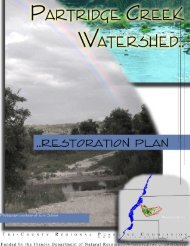 Partridge Creek Watershed Restoration Plan - Illinois Watershed ...