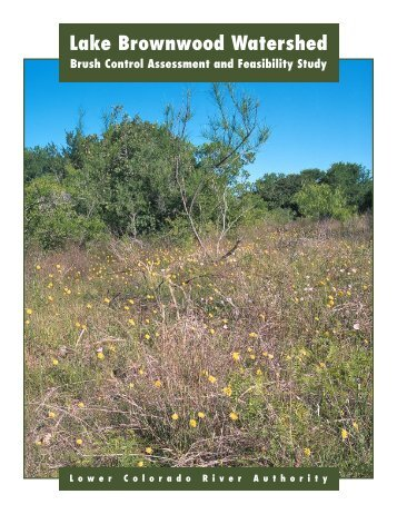 Lake Brownwood Watershed - Texas State Soil and Water ...