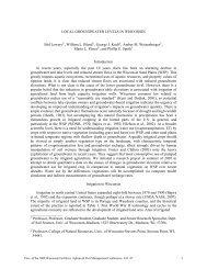 Proceedings of the 2008 Wisconsin Fertilizer, Aglime