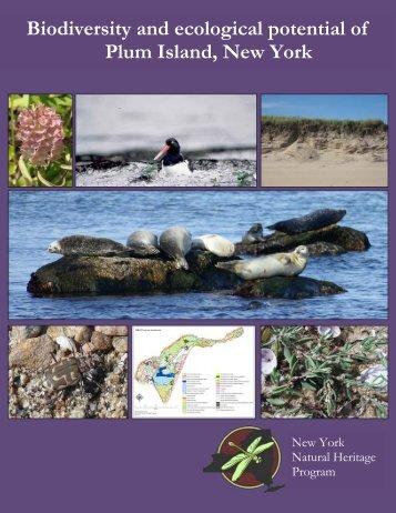 Biodiversity and ecological potential of Plum Island ... - Mike Bottini