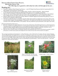 Dameron Marsh NAP self-guided field trip guide - Virginia ...