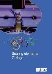 Sealing elements O-rings - Eriks+Baudoin