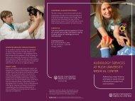 Audiology Clinical Brochure - Rush University Medical Center