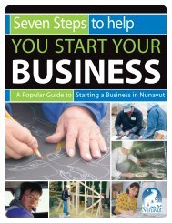 Seven Steps to Help You Start Your Business - Gouvernement du ...