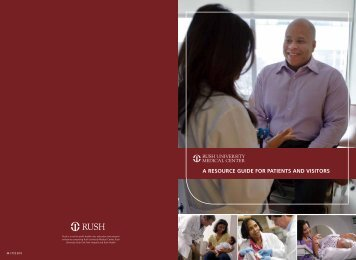 a resource guide for patients and visitors - Rush University Medical ...